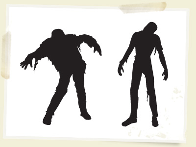 Free Vector Zombies – Illustrator CS2