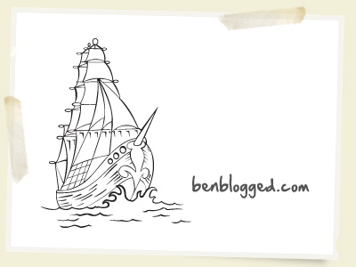 Free Vector Pirate Ships Tattoo Style